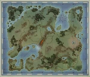 Карта игрового мира (щелкните, чтобы увеличить).