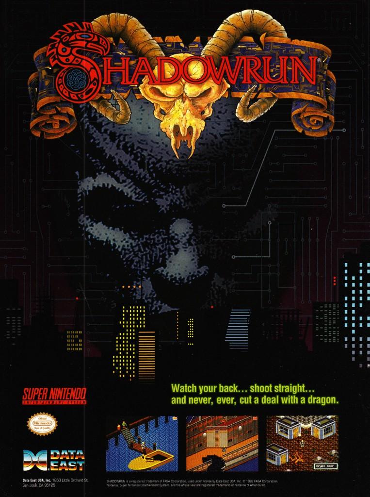 shadowrun-snes-poster
