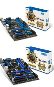 MSI Z87-G43 и B85-G43