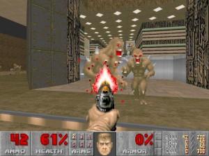 id Software, Doom (1993) Невыдуманная, воплощенная в технологии виртуальность началась отсюда. Doom не только приучил всех к 3D - он еще и задал рамки геймдизайна, в которых до сих пор пребывают современные шутеры. Кроме того, дизайн уровней второго Doom заслуживает изучения в университетах.