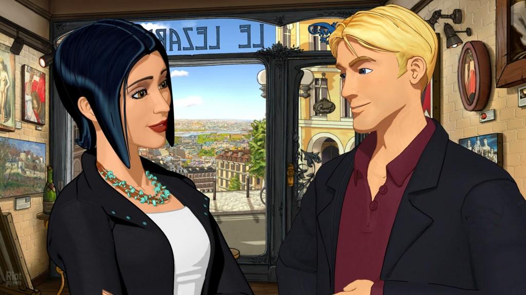 Бессменные герои серии Broken Sword — Николь Коллар и Джордж Стоббарт.