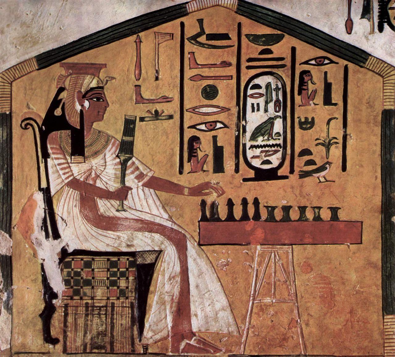 Царица развлекается с рабами 7 фотография