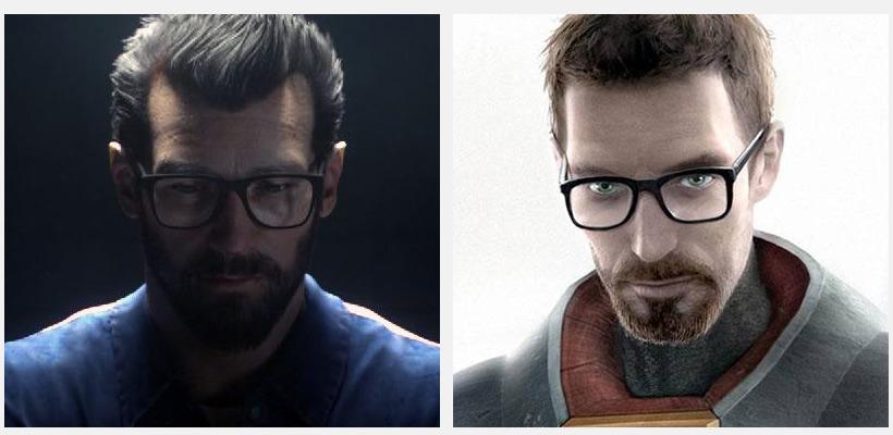 Алекс Тейлор подозрительно похож на Гордона Фримена из Half-Life. Оправу для очков они точно покупали в одном магазине.
