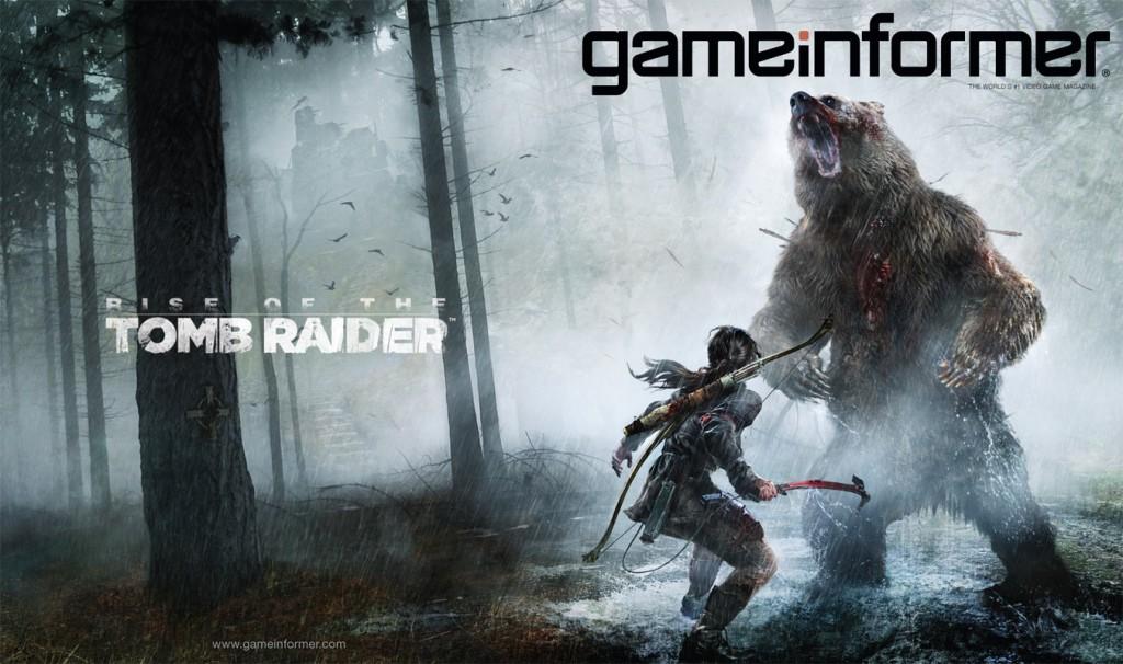 Обложка мартовского номера Game Informer.