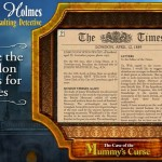 Официальный трейлер  Sherlock Holmes Consulting Detective: The Case of the Mummy's Curse
