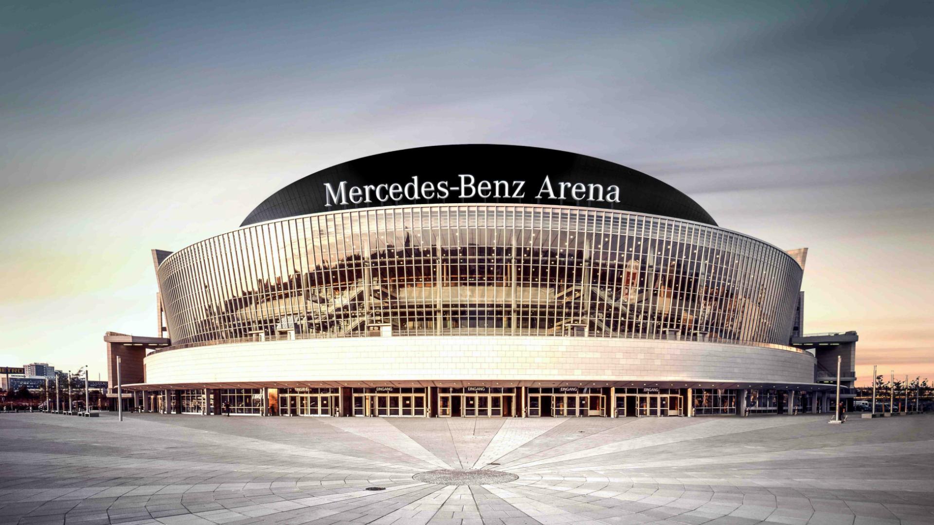 Mercedes-Benz Arena, Берлин, – место проведения финалов ЧМ 2015.