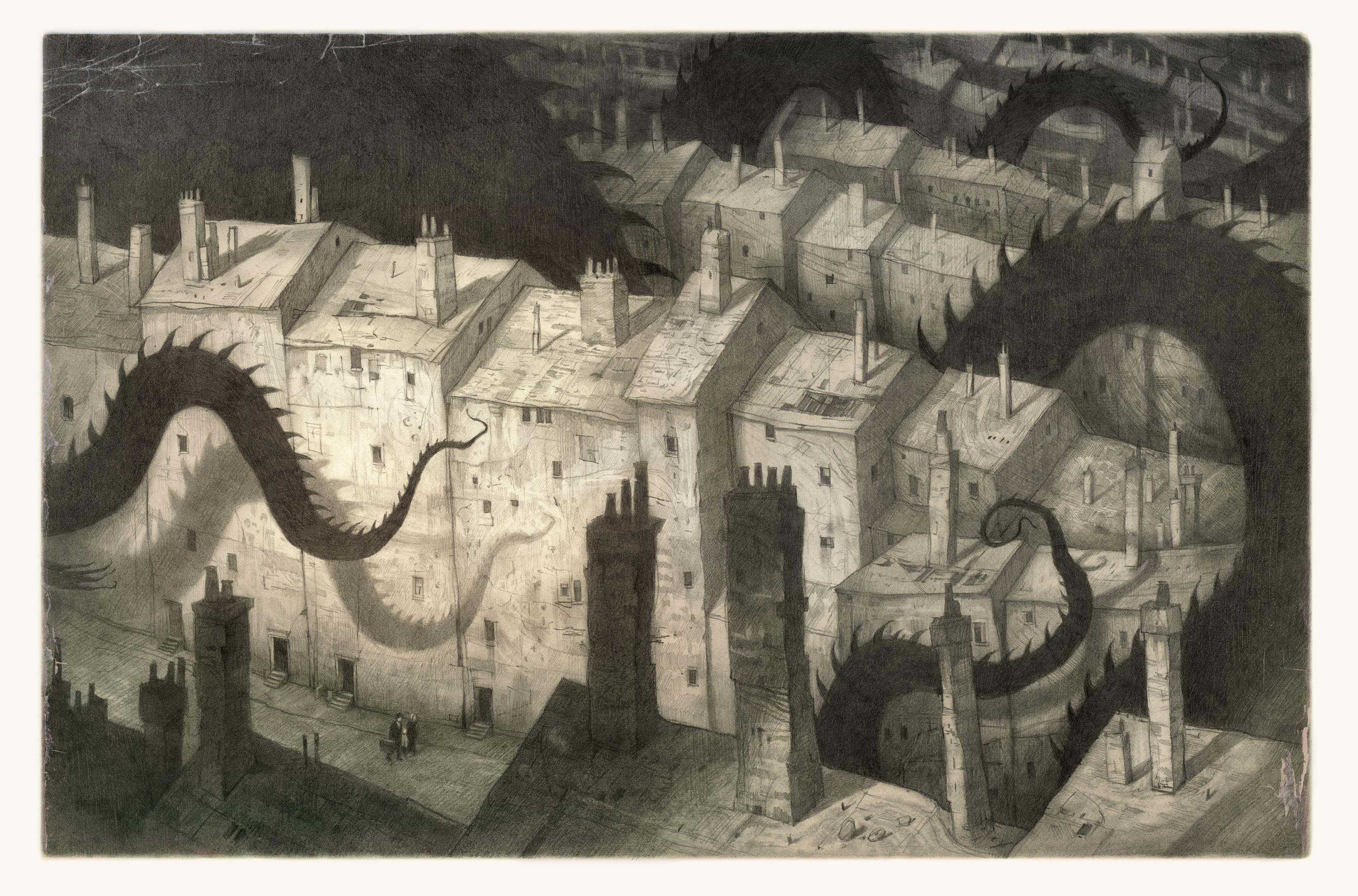 Графический роман The Arrival Шона Тэна стал для Галанина отправкой точкой при создании The Franz Kafka Videogame. «Мне показалось, что достаточно будет перенести все, что происходит в книге, в игру. Но чем больше я брал материала из произведений Кафки, тем меньше оставалось в игре от The Arrival».