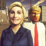 Авторы Carmageddon: Max Damage предлагают проехаться по Дональду Трампу и Хиллари Клинтон