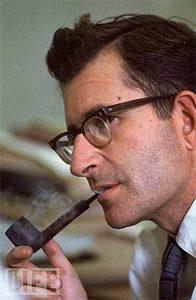 """""""Отец современной лингвистики"""", профессор MIT Ноам Хомский в 1968 г."""