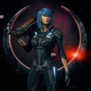 Quake Champions — ролики с ловкой Nyx и картой Blood Covenant
