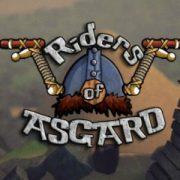 Викинги лихачат на велосипедах в спортивной аркаде Riders of Asgard