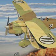 Релизный ролик обновления 1.69 «Regia Aeronautica» к War Thunder, добавляющего в игру итальянские самолеты (и не только)