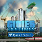 Релизный трейлер Mass Transit, «транспортного» DLC к Cities: Skylines