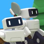 В стратегии The Colonists отряд роботов будет строить город на чужой планете