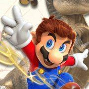 Запись прохождения Super Mario Odyssey в «коопе»