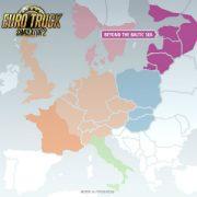 В этом году европейские грузовики из Euro Truck Simulator 2 впервые доедут до России