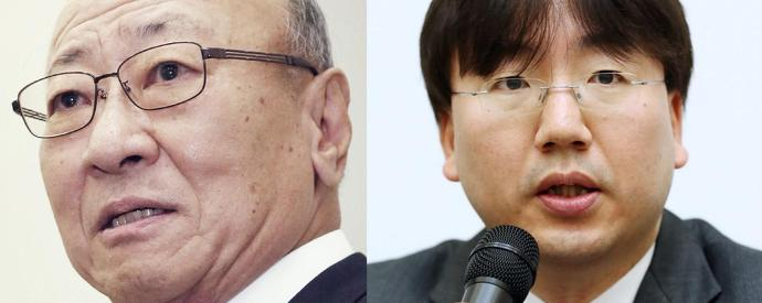 Tatsumi Kimishima and Shuntaro Furukawa