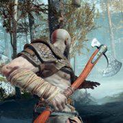 Геймплей God of War — Кратос против тролля