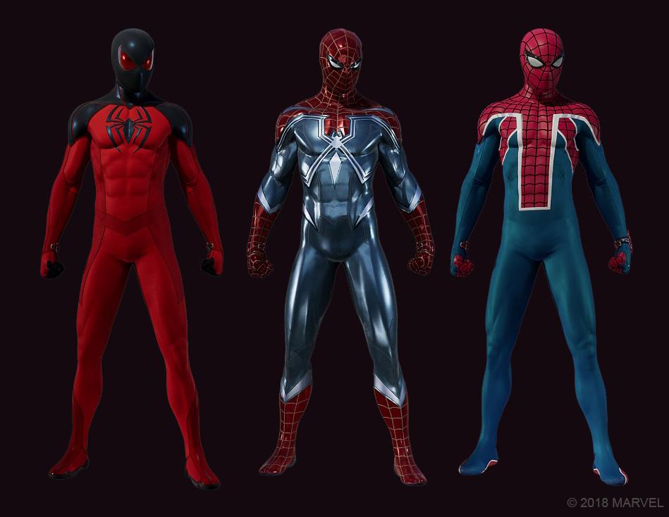 Spider-Man: The Heist костюмы