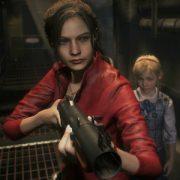 Сражение с безумным ученым в геймплейном демо Resident Evil 2