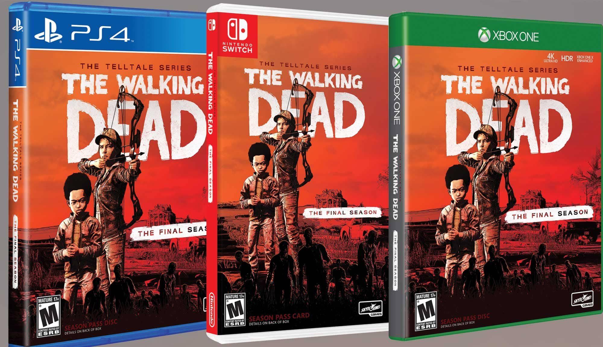 The Walking Dead: The Telltale Series - The Final Season Box