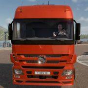 Геймплей и статус разработки Truck Driver