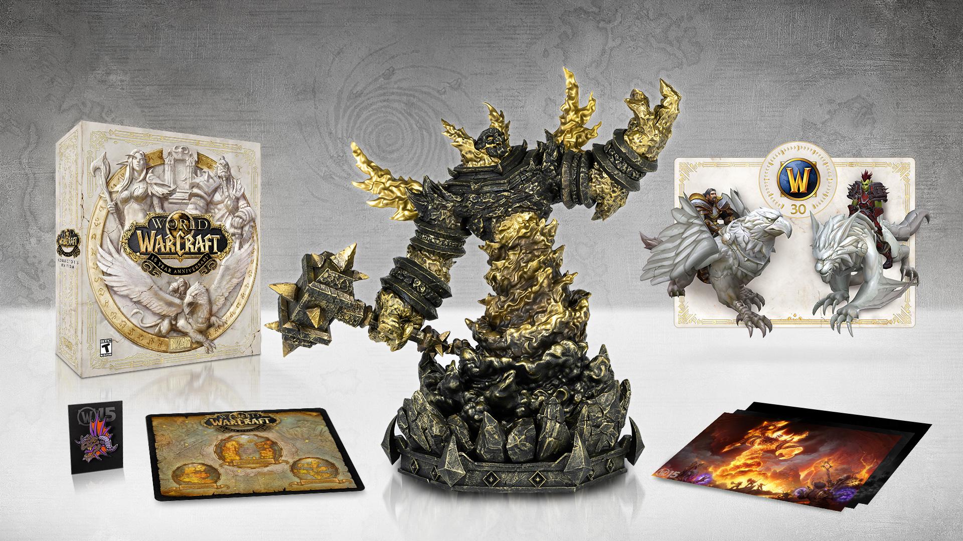 World of Warcraft 15th Anniversary CE