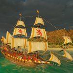 Просторы Карибского моря в новом видео Port Royale 4