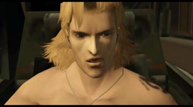 Так выглядел Ликвид Снейк в GameCube-эксклюзивном ремейке Metal Gear Solid.